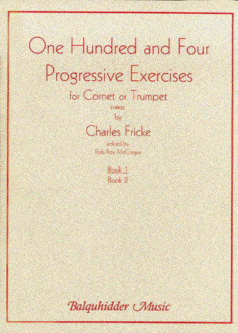 104 Progressive Exercises (1903) for Cornet Or Trumpet Vol.1 | Imagine This Music
