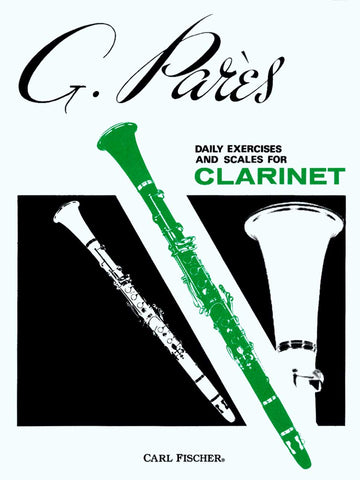 Daily Exercises and Scales for Clarinet