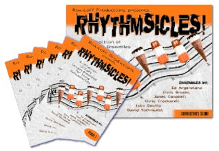 Rhythmsicles - A Collection of 8 Concert Ensembles for Six Young Percussionists! - A Collection of 8 Concert Ensembles for Six Young Percussionists!
