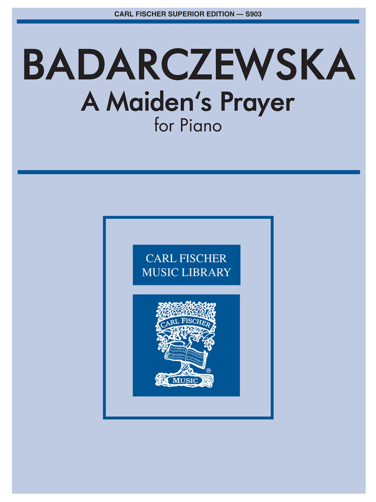 A Maiden's Prayer for Piano