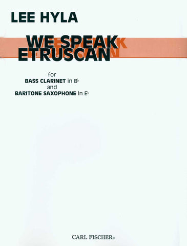 We Speak Etruscan | Imagine This Music