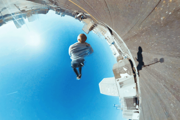 "Behind the scenes: Parkour ""A little planet 360Video"""