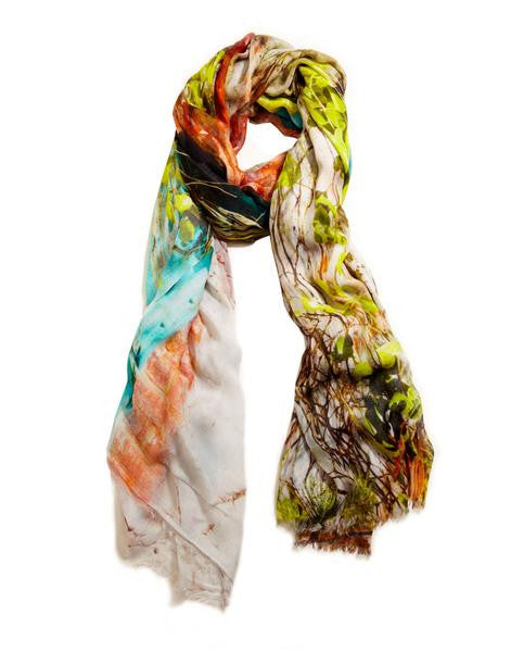 Antoure - Designer Silk Scarf by Sheila Johnson Collection