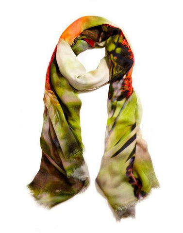 Callista - Designer Silk Scarf by Sheila Johnson Collection