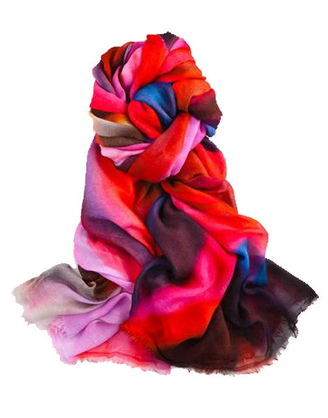 Carita - Designer Luxury scarf by Sheila Johnson Collection