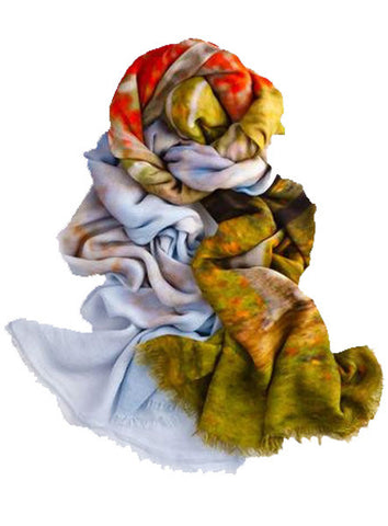 Etude - Designer Luxury scarf by Sheila Johnson Collection