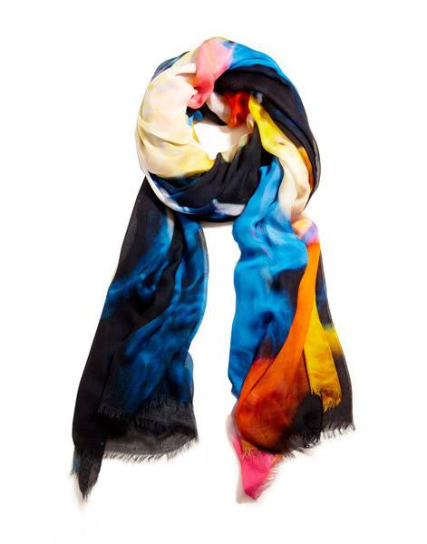 KOI - Designer Luxury scarf by Sheila Johnson Collection