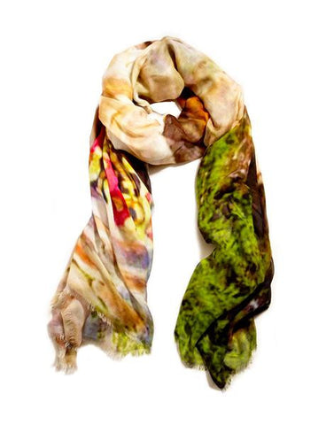 Rwanda Woman - Designer Luxury scarf by Sheila Johnson Collection
