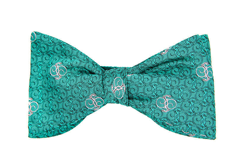 Bow Ties - Designer Silk Scarf by Sheila Johnson Collection