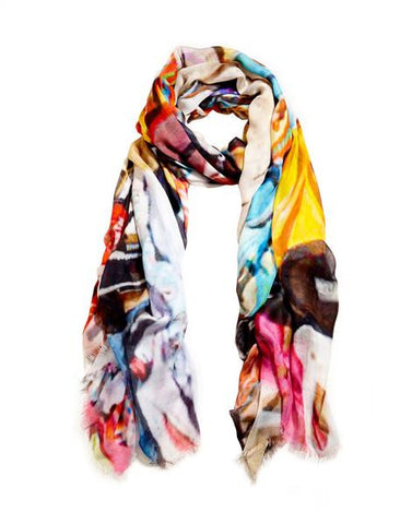 Sandal Market - Designer Luxury scarf by Sheila Johnson Collection