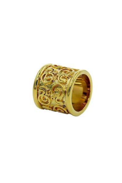 Scarf Ring - Designer Luxury scarf ring by Sheila Johnson Collection