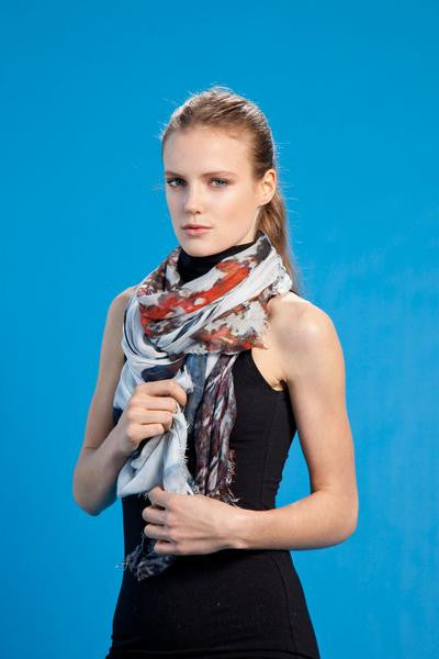 Winter Coat - Designer Luxury scarf by Sheila Johnson Collection