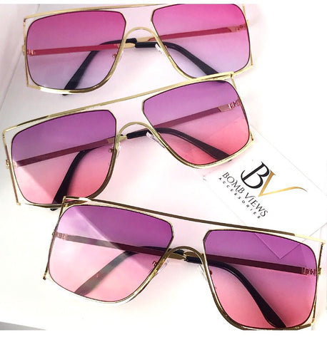 Color Pop Ombré Sunglasses