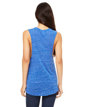 Load image into Gallery viewer, Bella+Canvas Flowy Scoop Muscle Tank