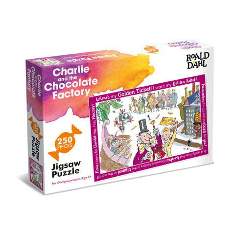 Charlie and Choc Factory Puzzle