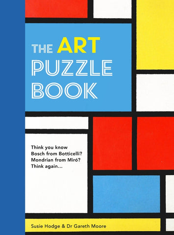 The Art Puzzle Book by Susie Hodge and Dr Gareth Moore
