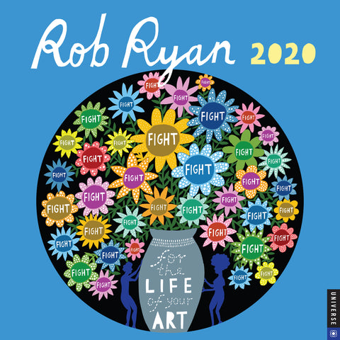 Rob Ryan 2020 Square Wall Calendar