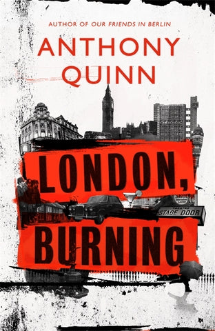 London, Burning by Anthony Quinn
