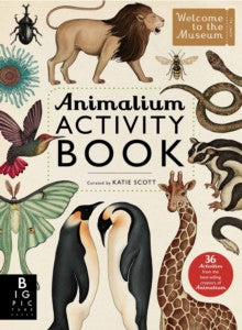 Animalium Activity Book by Kate Scott