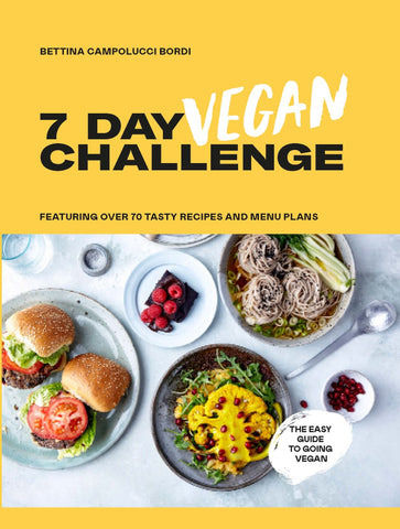 7 Day Vegan Challenge by Bettina Campolucci Bordi