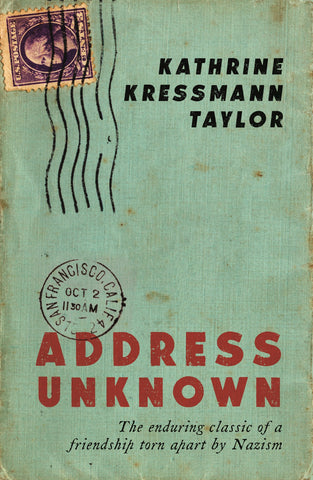Address Unknown by Kathrine Taylor
