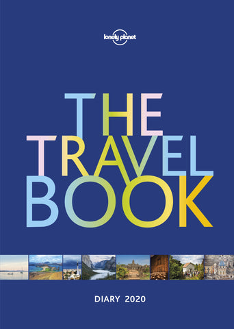 The Travel Book Diary 2020 by Lonely Planet