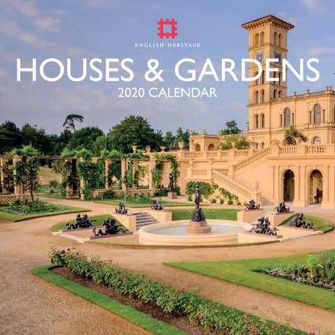 Houses & Gardens 2020 Square Wall Calendar
