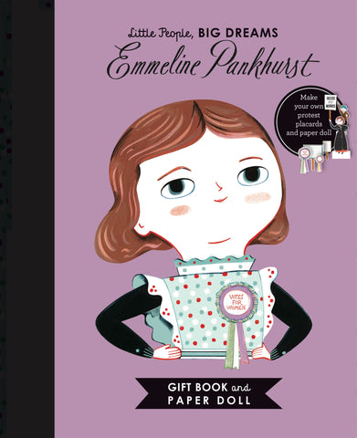 Little People, Big Dreams: Emmeline Pankhurst Book by Isabel Sanchez Vegara