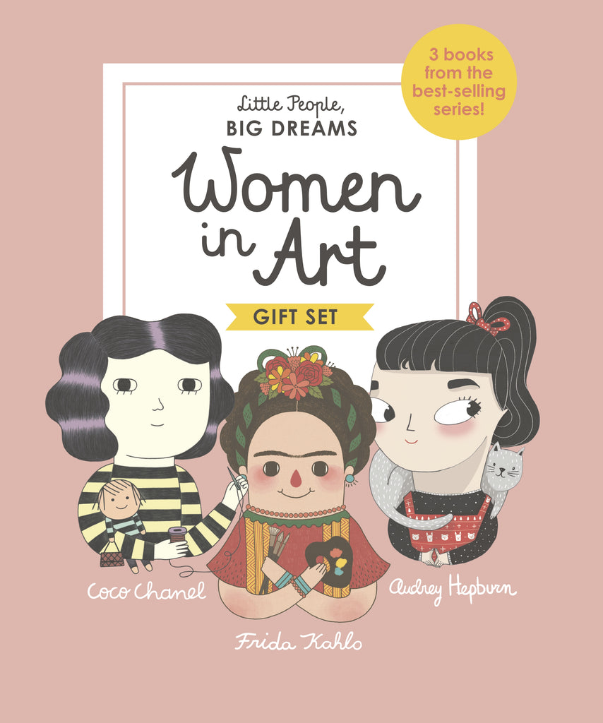 Little People, Big Dreams: Women in Art by Isabel Sanchez Vegara