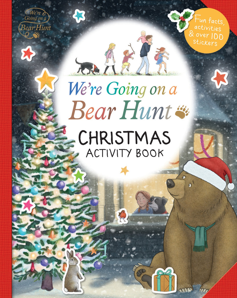 We're Going on a Bear Hunt: Christmas Activity Book