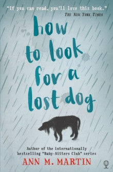 How to Look for a Lost Dog by Ann M. Martin