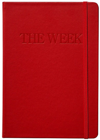 The Week Leather Notebook
