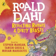 Revolting Rhymes and Dirty Beasts by Roald Dahl - Audiobook