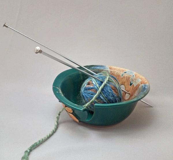 Yarn Bowl-Flower