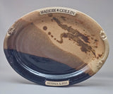 Large Oval Platter with Customized Name and Date