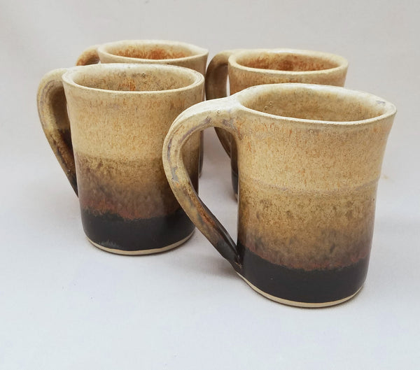 10 Ounce Round Coffee Mug Set