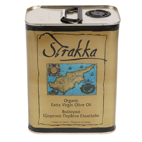 Strakka Olive Oil - Single Estate - 2lt Tin