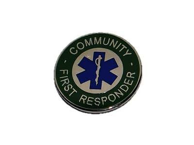 Community First Responder Tie Pin / Lapel Badge