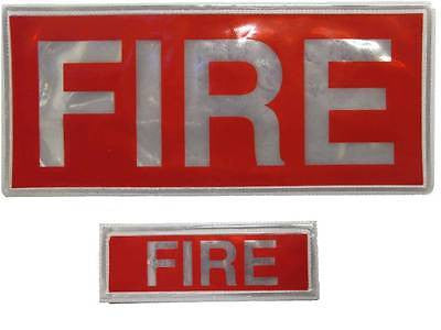 Fire Reflective Badge