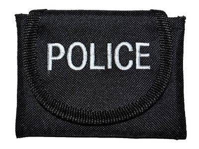 Embroidered POLICE Glove Pouches