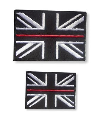Thin Red Line Union Jack Velcro Backed Patch