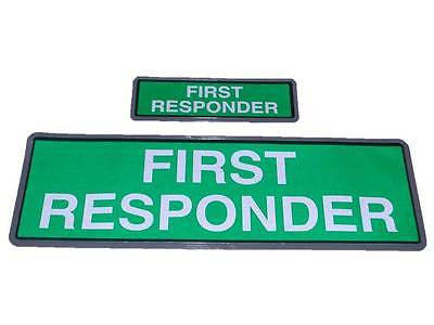 FIRST RESPONDER Reflective Badge