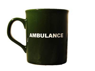 Green AMBULANCE Ceramic Mug