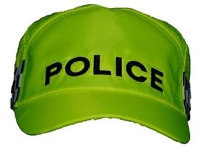 POLICE Baseball Cap (High-Visibility Yellow)