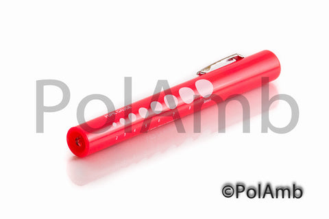 Disposable Pen Torch with Pupil Gauge (PINK)