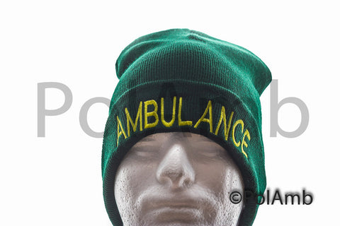 AMBULANCE Beanie / Woolly Hat