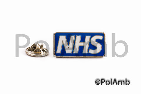 NHS Tie Pin Lapel Badge