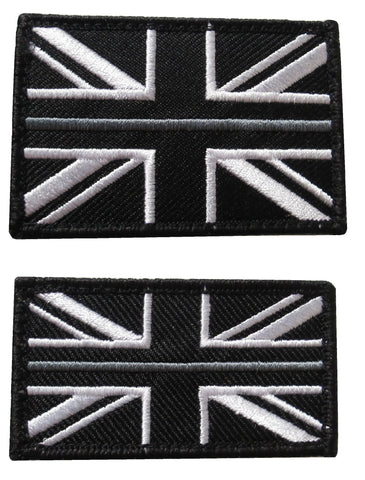 HM Prison Service Union Jack Velcro Backed Patch
