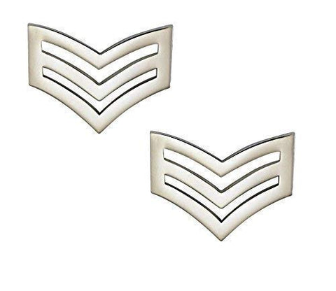 Police Sergeant Stripes / Chevrons (METAL)