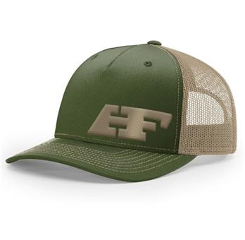 Army Green & Khaki HF 5-Panel Hat